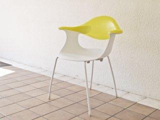 ドリアデ driade ブルーベルチェア BLUEBELLE chair アームチェア イエロー ロス・ラヴグローヴ 廃番 ◇