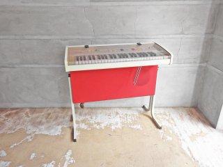 ブラザー BROTHER かっこうE 電子オルガン GO-801 電子ピアノ ミニキーボード 昭和レトロ 激レア ♪