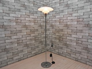 ルイスポールセン louis poulsen PH4 1/2-3 1/2 グラスフロアライト ポール・ヘニングセン 北欧照明 定価:\418,000- 現状品 ●