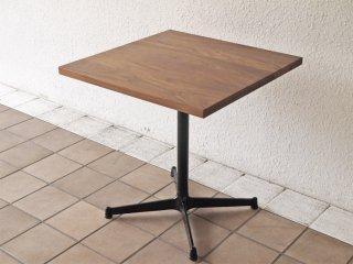 グリニッチ greeniche オリジナルテーブル original table カフェテーブル ウォルナット材 Xレッグ セミオーダーサイズ 幅60cm ◇