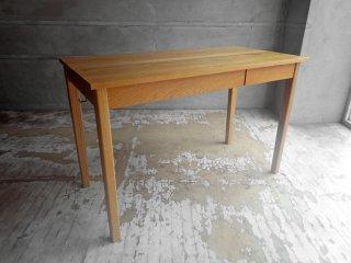 無印良品 MUJI オーク材 パーソナルデスク ワークテーブル W110 引出し付 ナチュラル シンプル♪