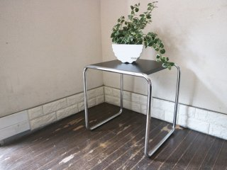トーネット THONET B9a サイドテーブル ネストテーブル マルセルブロイヤー バウハウス デザイン 定価12万円 ◎