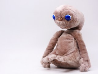 カマー社 KAMAR ショータイム SHOW TIME プラッシュドール PLUSH DOLL イーティー E.T. ぬいぐるみ 人形 1980s ビンテージ ●