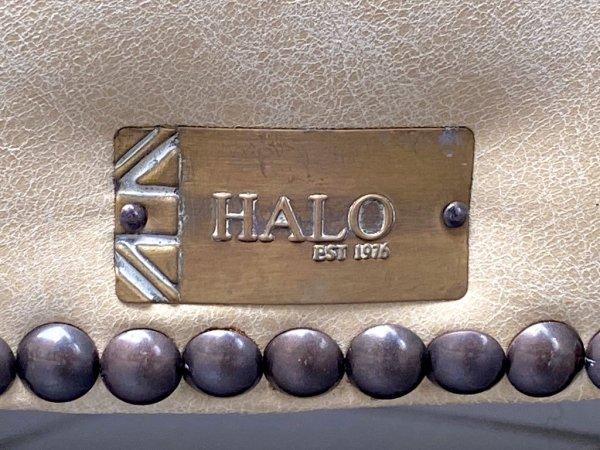 ハロ HALO プロフェッサーアームチェア PROFESSOR CHAIR GALATA SAVVIA 牛本革 キリム リバーシブルクッション 英国 A ■