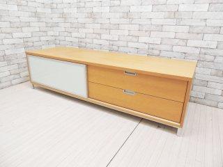 モーダエンカーサ moda en casa AVボード TV台 オーク材 × スチール W180cm ナチュラルモダン ●