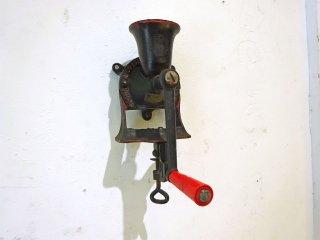 スポング SPONG & CO LTD ビンテージ コーヒーミル グラインダー Model NO.1 壁面やデスクに取り付け可能 英国 イギリスビンテージ ★