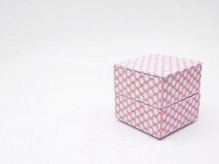 タイム&スタイル TIME&STYLE 重箱 JU-BAKO 角松皮菱 小 2段重 白磁 赤絵 印判 波佐見焼 ●