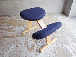 リボ Rybo バランスイージー balans Easy バランスチェア ネイビー 学習椅子 姿勢矯正 ノルウェー ♪