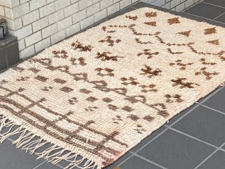 ベニワレン Beni Ouarain ラグ 手織り絨毯 モロッコ ライトイヤーズ LIGHT YEARS 取扱い ■