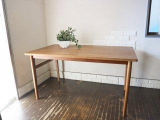 ウニコ unico シグネ SIGNE ダイニングテーブル アッシュ材 ブラウン 北欧テイスト ◎