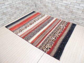 デコラシオン購入 Decoration ギャッベ gabbeh 絨毯 ラグ レッド系 200×150 ●