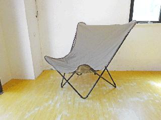 ラフマ LAFUMA ポップアップチェア Pop Up Chair XL グレー ガーデン バルコニー アウトドア キャンプ 折りたたみ ★