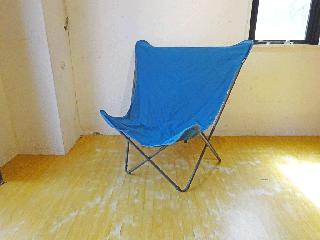 ラフマ LAFUMA ポップアップチェア Pop Up Chair XL ブルー ガーデン バルコニー アウトドア キャンプ 折りたたみ ★