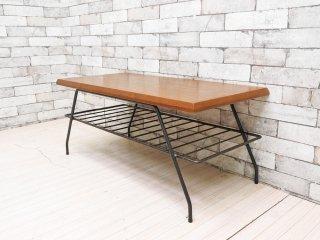 アクメファニチャー ACME Furniture ベルズ ファクトリー コーヒーテーブル BELLS FACTORY COFFEE TABLE ローテーブル S 廃番サイズ 定価:\47,300- ●