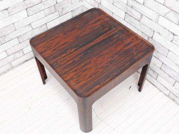天童木工 Tendo ハコ テーブル HACO TABLE センターテーブル ローズウッド 剣持勇 ビンテージ ●