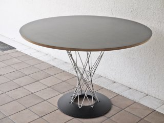 イサムノグチ サイクロンテーブル ダイニングテーブル リプロダクト ミッドセンチュリー Φ107cm ◇