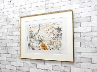 サルバドール ダリ Salvador Dali ドン キホーテ 67/300 リトグラフ 1957年 作品 額装品 アート 芸術 ●