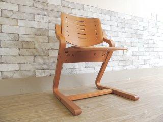 フォルミオ Formio ブナ材 チェア KF-02 デスクチェア 阿久津雄一 デザイン 高さ調節 子供椅子 北欧 デンマーク グットデザイン賞 ●