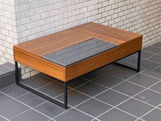 ボーコンセプト Bo Concept シヴァ Chiva コーヒーテーブル リフトアップテーブル ウォールナット リフトアップ天板 モダンデザイン ■