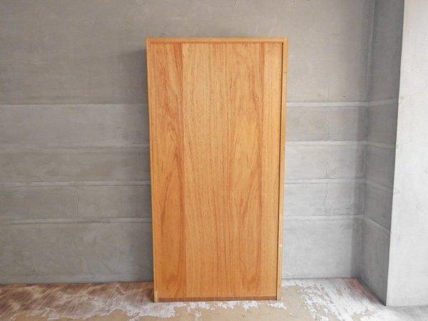ジャパンビンテージ Japan Vintage チーク材 ブックシェルフ 本棚 飾り棚 6段 棚板可動式 レトロスタイル 北欧スタイル ♪