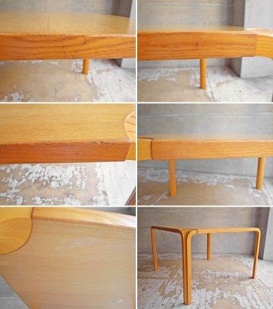 アルテック artek ファンレッグ コーヒーテーブル Fan Leg Coffee Table Xレッグ アルヴァ・アアルト Alvar Aalto フィンランド 廃番 希少 ♪