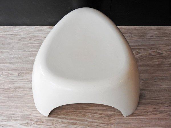 コトブキ kotobuki エレファントスツール Elephant Stool ホワイト FRP製 柳宗理 70sビンテージ  ミッドセンチュリー 稀少 ●