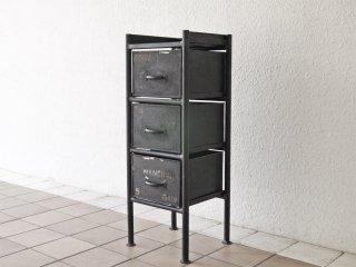 ジャーナルスタンダードファニチャー journal standard Furniture ギデル GUIDEL 3ドロワーズチェスト 3 DRAWERS CHEST インダストリアル ◇