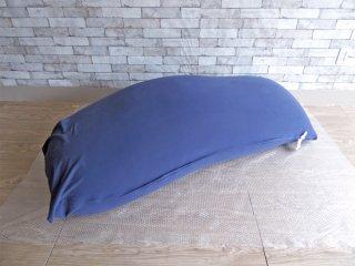 ヨギボー yogibo マックス MAX ビーズソファ クッション ネイビーブルー 定価\32,780- B ●