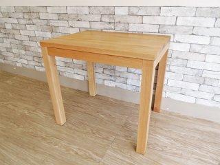 スコープ SCOPE オリジナル 4040 テーブル ダイニングテーブル オーク無垢材 幅80cm シンプルデザイン 定価:¥80,000- ●