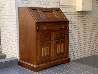 オールドチャームファニチャー Old Charm Furniture ライティングビューロー オーク無垢材 英国 ヨーロピアンクラシカル ■