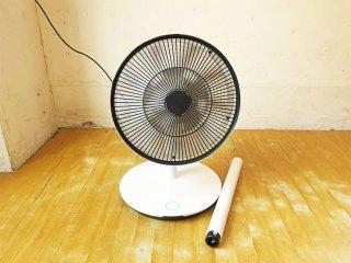 バルミューダ BALMUDA グリーンファン2 GreenFan2 扇風機 卓上からリビングファンにも ホワイト×ブラック EGF-1200 2013年製 ★