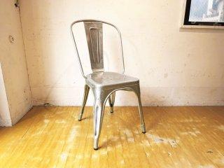 トリックス TOLIX エーチェア A-chair スタッキングチェア ガルバナイズド グザビエ・ポシャール インダストリアル 工業系 フランス ★