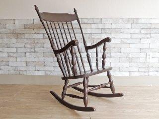 太平産業 TAIHEI ブナ無垢材 WINDS ロッキングチェア 飛騨の家具 ●