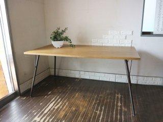 ジャーナルスタンダードファニチャー journal standard Furniture サンク SENS ダイニングテーブル オーク材×アイアン 工業系 ◎
