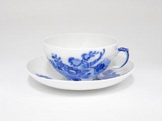 ロイヤルコペンハーゲン ROYAL COPENHAGEN ブルーフラワー Blue Flower ティーカップ&ソーサー 北欧食器 ●