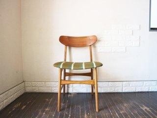 talo scandinavian furniture 北欧ビンテージ チーク材 ダイニングチェア ファブリック ◎