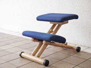 ストッケ STOKKE マルチバランス MALTI balans バランスチェア 学習椅子 ネイビー 北欧 ノルウェー ◇