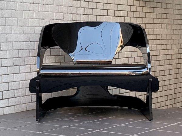 カルテル Kartell ジョエコロンボ アームチェア 4801 Armchair ブラック ジョエ・コロンボ Joe Colombo ■