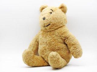 アルレスフォードクラフツ Alresford Crafts ハニーベア Honey Bear テディベア 熊 まゆげ ぬいぐるみ 玩具 全長50cm 1970s UKビンテージ 英国雑貨 ●