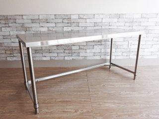 アートスタイルマーケット ART STYLE MARKET MONOシリーズ COM-AJ ワークテーブル デスク 作業台 w150 ステンレス 定価¥48,900- A ●