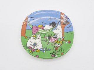 アラビア ARABIA ムーミン Moomin Happy Together プレート 飾り皿 1995-2005 廃番 フィンランド 北欧食器 ●