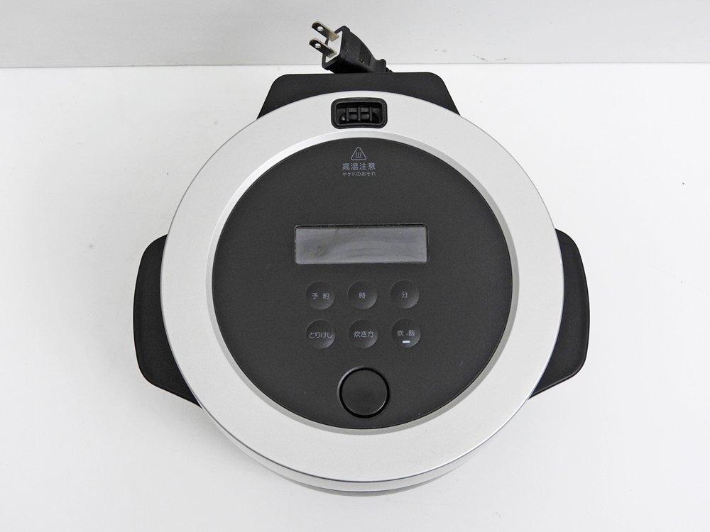 バルミューダ BALMUDA ザ・ゴハン The Gohan 3合炊 K03A-BK ブラック 付属完備 定価¥45,650- ●
