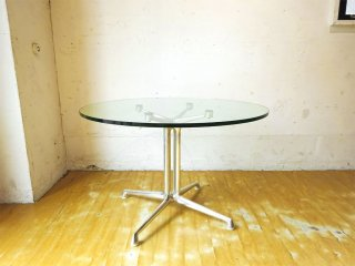 ハーマンミラー Herman Miller イームズ ラフォンダベーステーブル Eames Lafonda Base Table Φ72 サイドテーブル 廃盤 ★