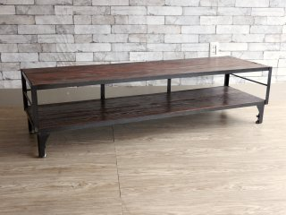 ジャーナルスタンダード ファニチャー journal standard Furniture カルビ CALVI AVボード Lサイズ テレビボード ローボード 定価¥69,300- ●