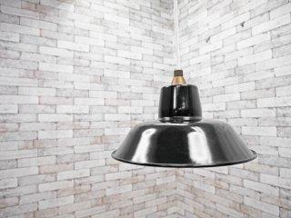 イデー IDEE ホーロー ペンダントライト 琺瑯 ブラック 北欧スタイル ●