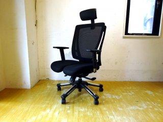 ハラチェア Hara Chair HHC-19A 分割シート バランスチェア 人間工学 リクライニング ロッキング デスクチェア ★