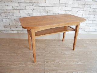 ウニコ unico クルト KURT カフェテーブル オーク材 コーヒーテーブル 幅100cm 北欧スタイル ●