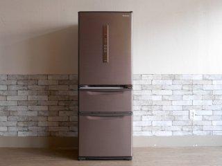 パナソニック Panasonic ノンフロン冷凍冷蔵庫 NR-C32FM 2017年製 315L 3ドア ECONAVI エコナビ ●