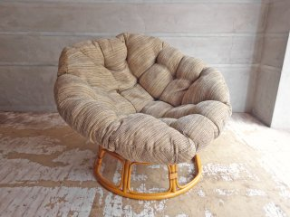 アクメファニチャー ACME Furniture ウィッカー イージーチェア Wicker Easy Chair ラタンフレーム 1人掛けソファ 定価¥79,200- ♪