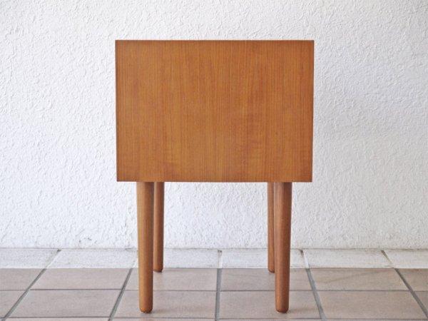 クロロス CHLOROS ファンデーション Foundation スモールサイドチェスト チーク材 サイドテーブル ナイトテーブル 北欧デザイン ◇